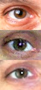 Mood Ring or Kaleidoscope Eyes & Hair